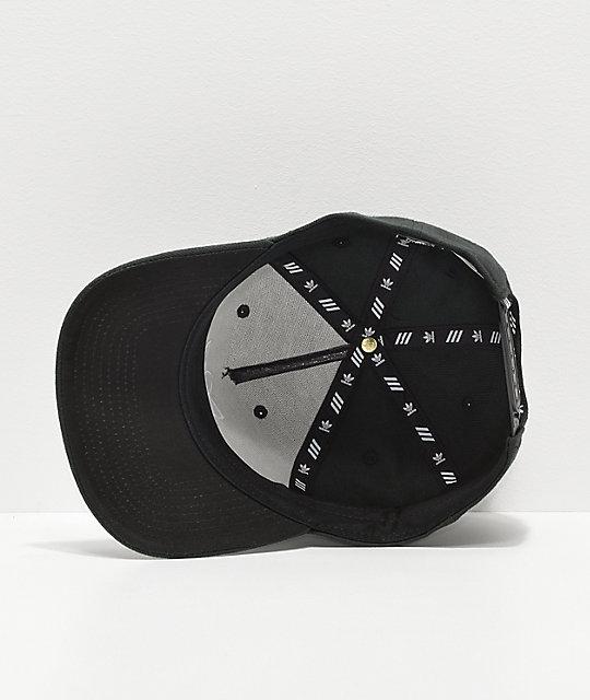 ... adidas Originals Dart Pre-Curve Black Snapback Hat 12f80b2c04b