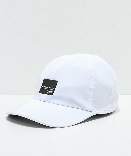 3b73bf59297 adidas Originals EQT Trainer II White Strapback Hat