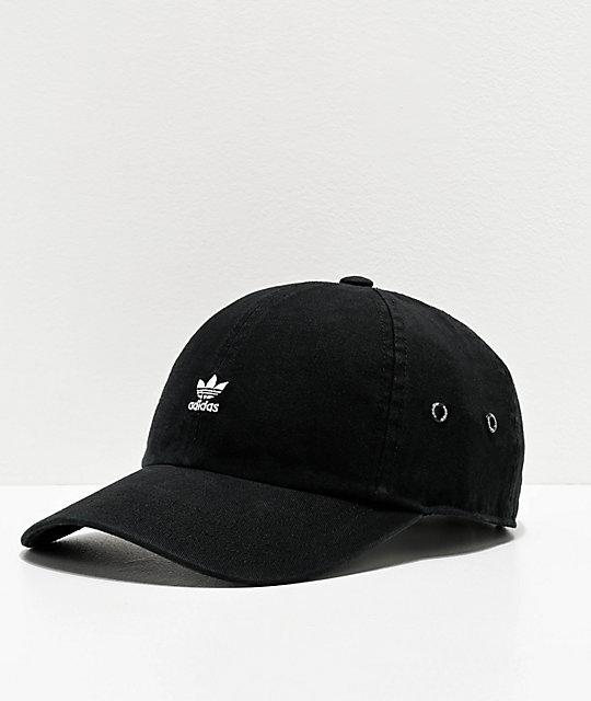 adidas Originals Mini Logo gorra negra para mujeres