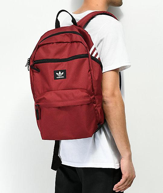 59302c248e adidas Originals National Burgundy Backpack