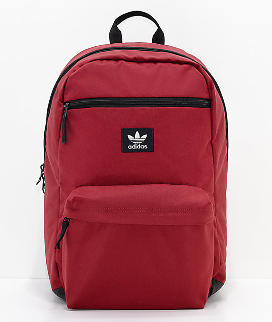 adidas Originals National Burgundy Backpack | Zumiez