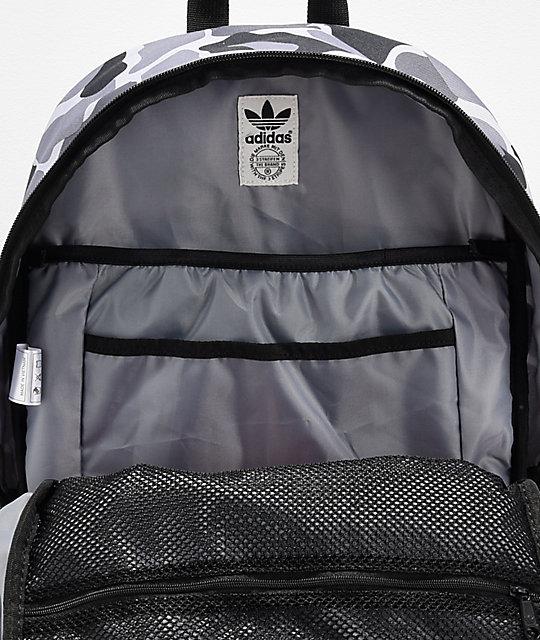 ... adidas Originals National Grey   Black Camo Backpack a635a86f64008
