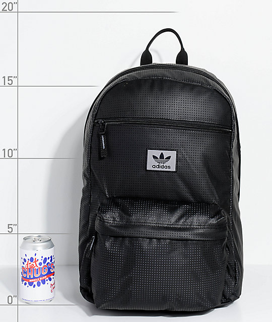 87e789991532 adidas Originals National Plus Black Backpack