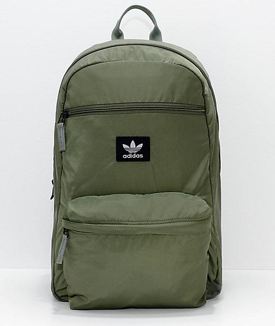 e78852606498 adidas Originals National Plus Green Backpack