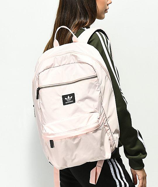 ... adidas Originals National Plus Icey Pink Backpack ... c84f89c574cc0