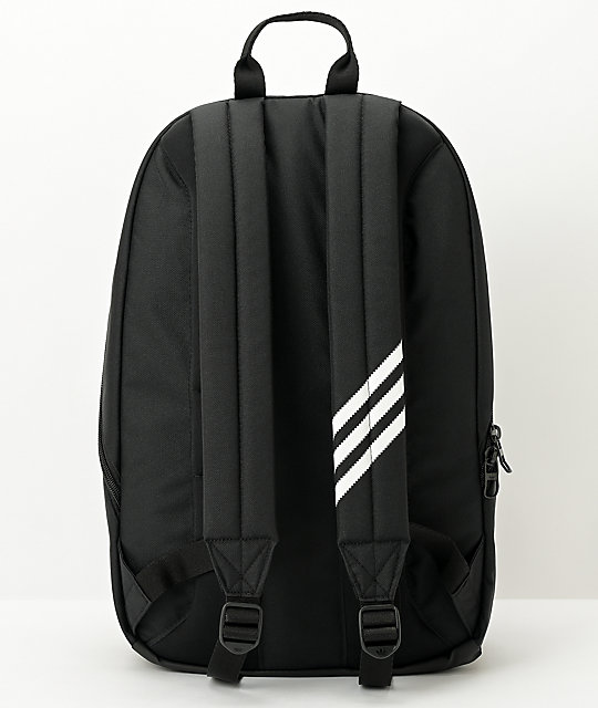 adidas Originals National Recycled Black Backpack
