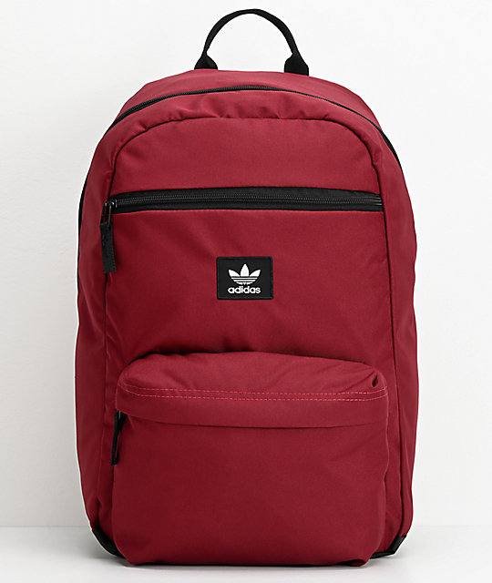 adidas Originals National mochila roja