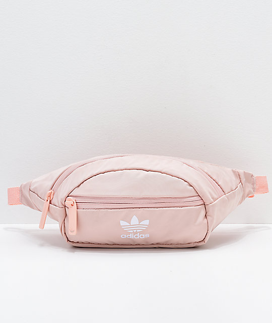 98fa3db9b548 adidas Originals Pink   White Waist Pack