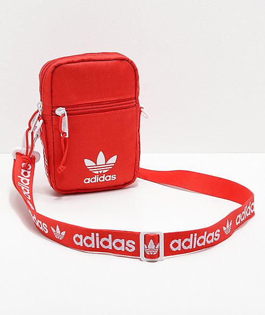 fd7b46cf768bd adidas Originals Red Shoulder Bag