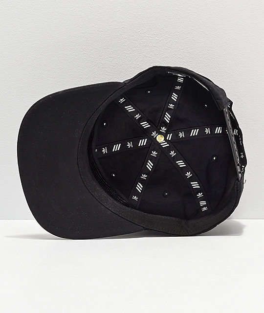 18bf5f6b03959 ... adidas Originals Relaxed Decon II Black Snapback Hat