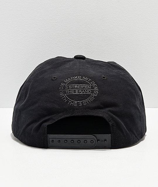 88f272cf6c329 ... adidas Originals Relaxed Decon II Black Snapback Hat ...