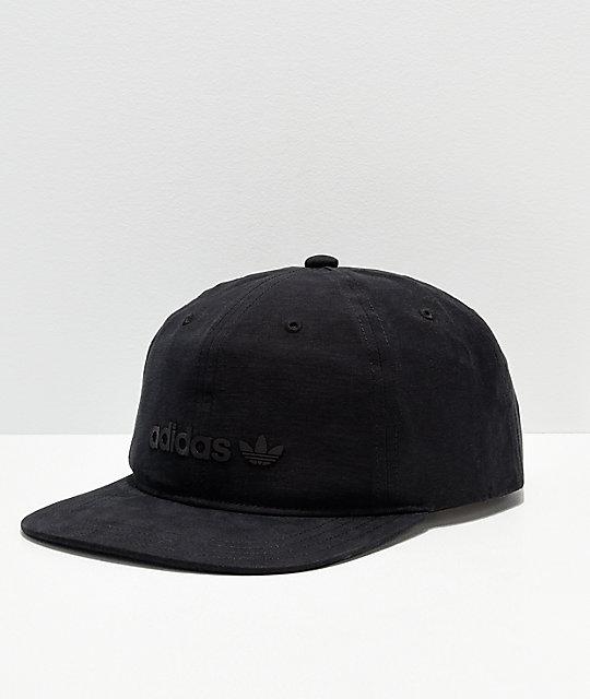 b7e90c6f0b546 adidas Originals Relaxed Decon II Black Snapback Hat
