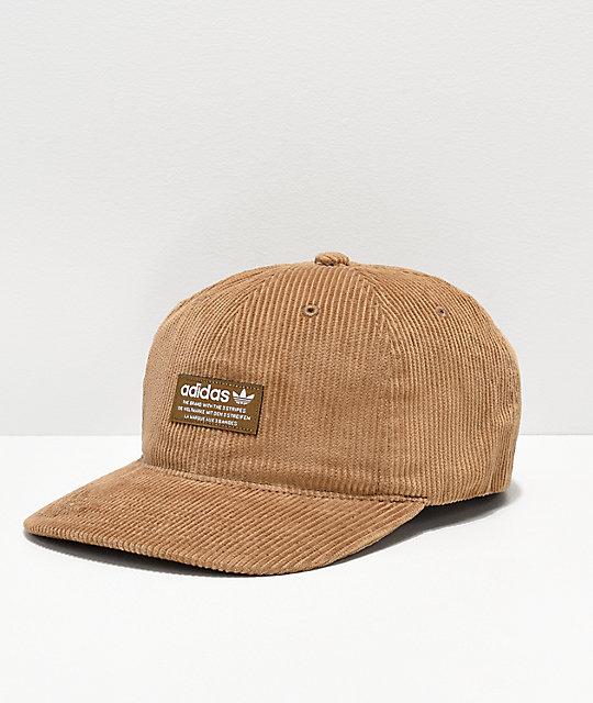 adidas Originals Relaxed Desert Corduroy Strapback Hat  501718dc9a0