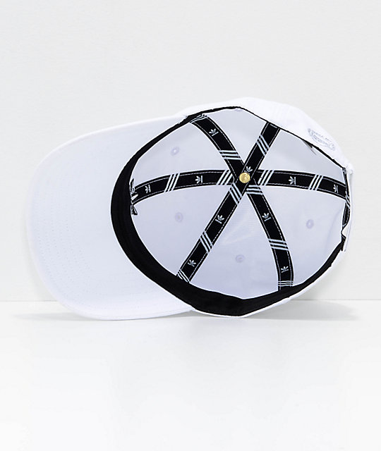 adidas Originals Relaxed Modern White Strapback Hat