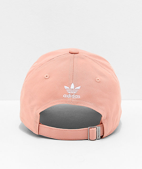 adidas Originals Relaxed Outline gorra rosa pastel para mujeres