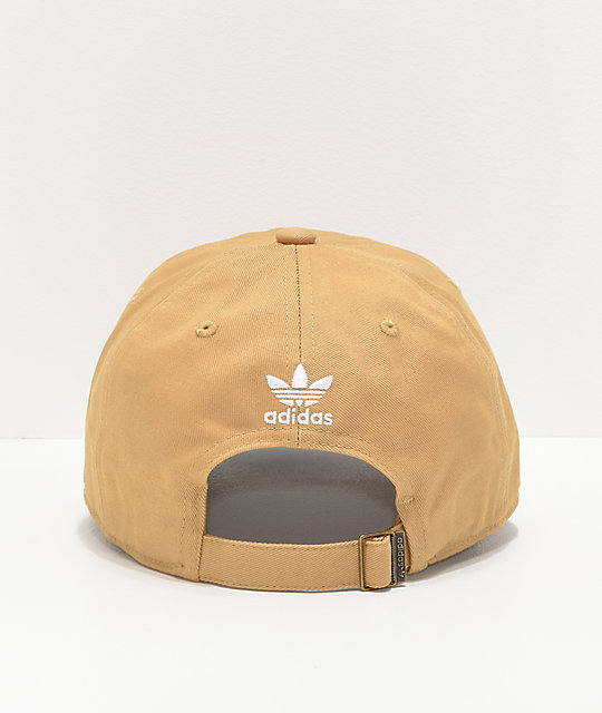 adidas Originals Relaxed Raw Sand Strapback Hat