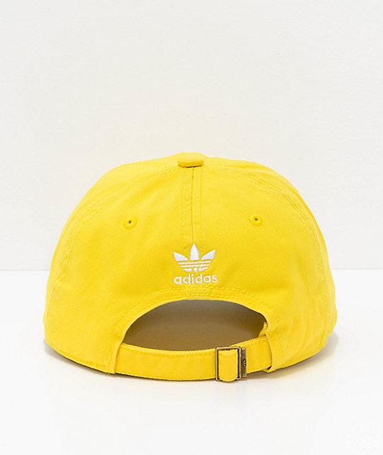 adidas Originals Relaxed gorra amarilla  adidas Originals Relaxed gorra  amarilla ... 4b8fc774a5c