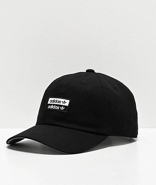 1bd97623aa adidas Originals Stacked Black Strapback Hat