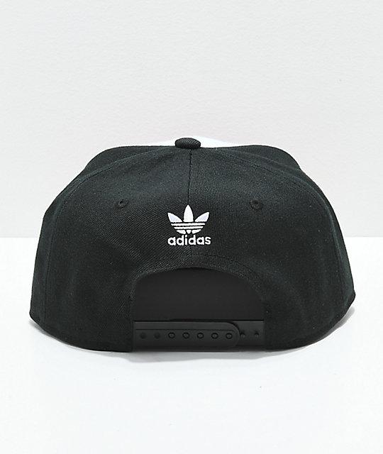 1d840f52 ... switzerland adidas originals trefoil white black red snapback hat 40ea5  e8dc3