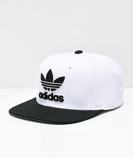 adidas Originals gorra blanca y negra ... dcbca0deb40