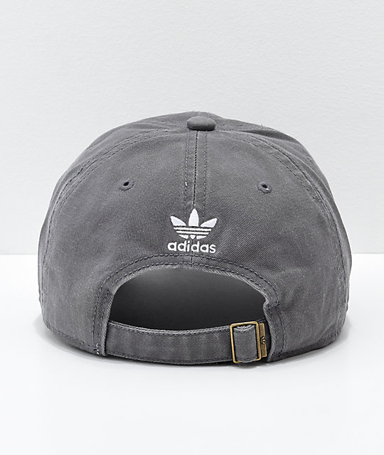 adidas Originals gorra gris y color borgoño