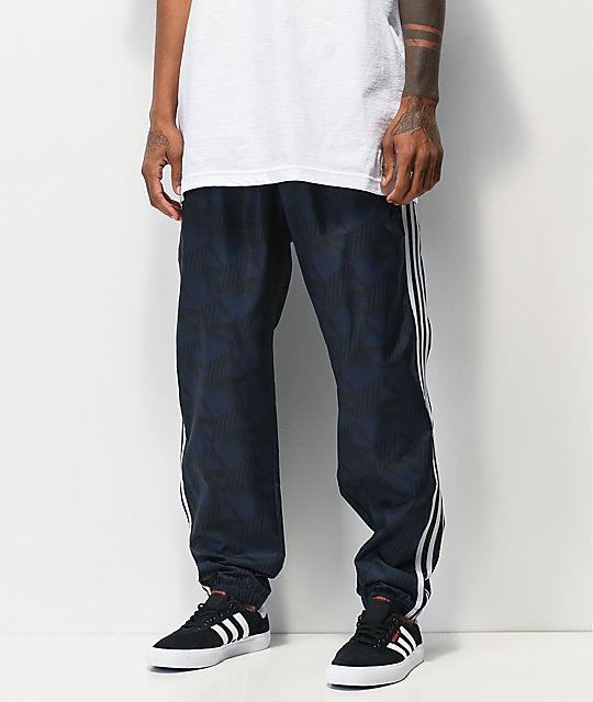 adidas Party pantalones de chándal azul marino