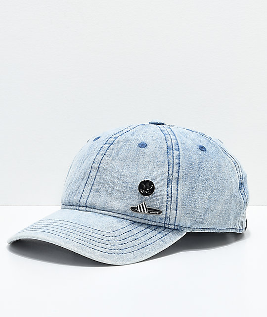 adidas Pin Pack Denim Strapback Hat