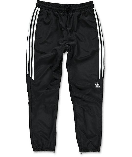 barato para la venta ofrecer descuentos diseñador de moda adidas Premiere pantalones deportivos en negro