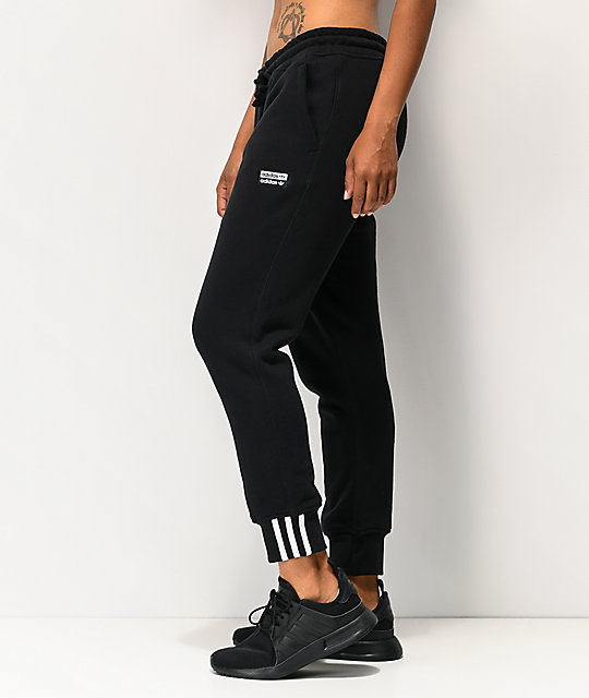 adidas R.Y.V. Black Jogger Sweatpants