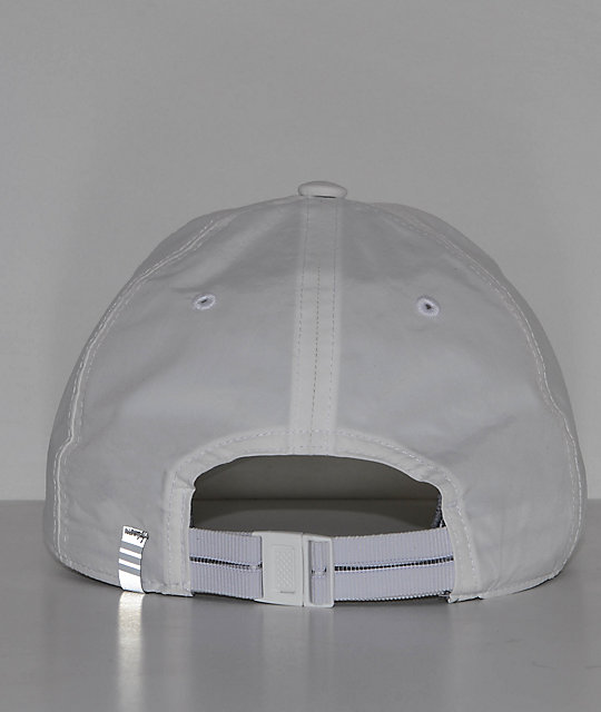 ... adidas Relaxed Modern II White Strapback Hat 4a790c094d1