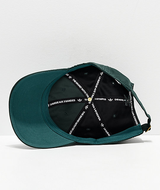adidas Relaxed Plus Green Strapback Hat