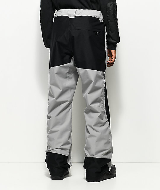 adidas Riding Pant Charcoal & Black 10k Snowboard Pants