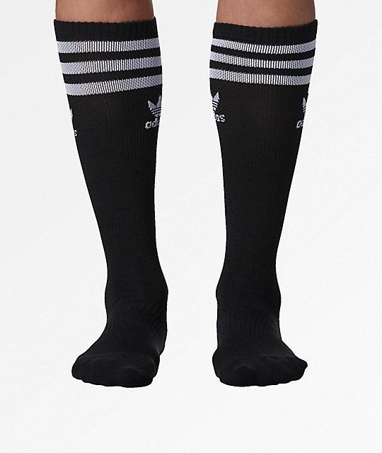 adidas Roller Black Knee Socks