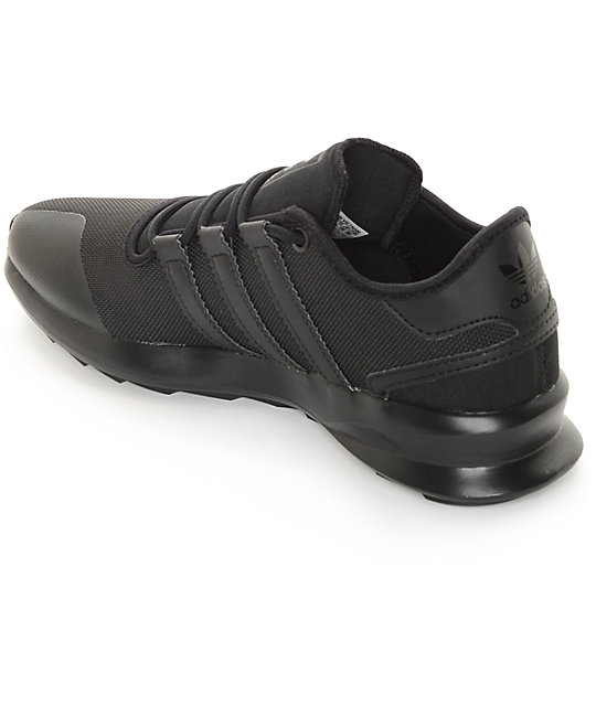 e7a0b54751f ... adidas SL Rise Black Shoes ...