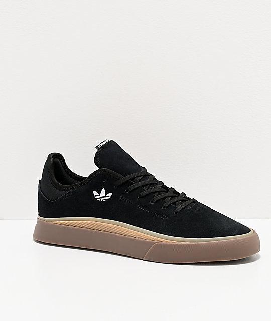 adidas Sabalo zapatos en negro, blanco y goma