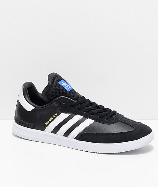 adidas Samba ADV Black & White Shoes