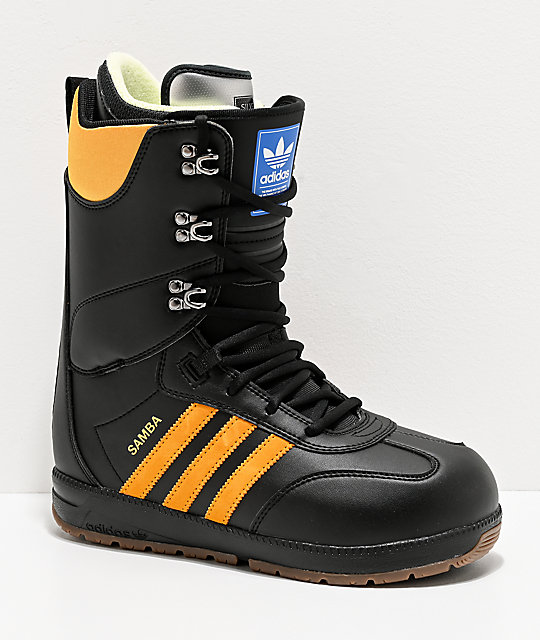 adidas Samba ADV Black Snowboard Boots 2020 | Zumiez