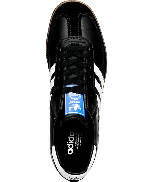 adidas Samba Black, White & Gum Shoes