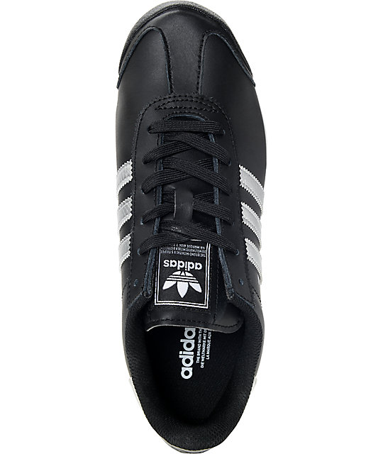 66773752d5b3 ... adidas Samoa Black   Silver Women s Shoes ...