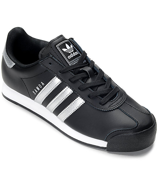 adidas Samoa Black   Silver Women s Shoes  57df4c6b2