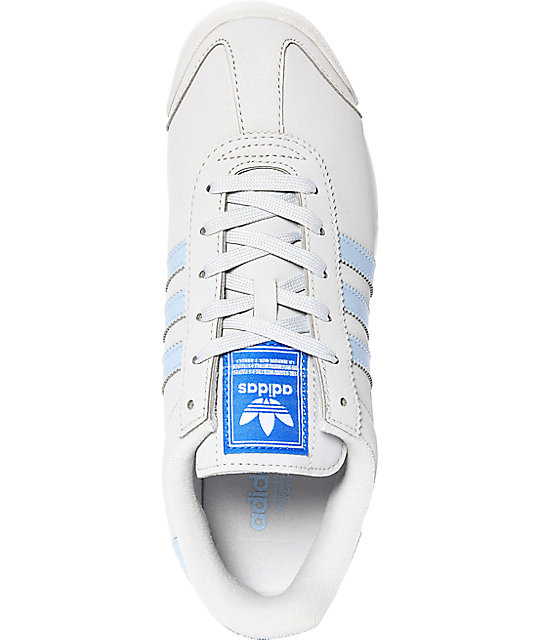 competitive price 26d0a 57268 Grey amp  Adidas Samoa Shoes Zumiez Blue UYvAq