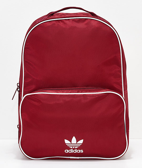 adidas Santiago Burgundy Backpack