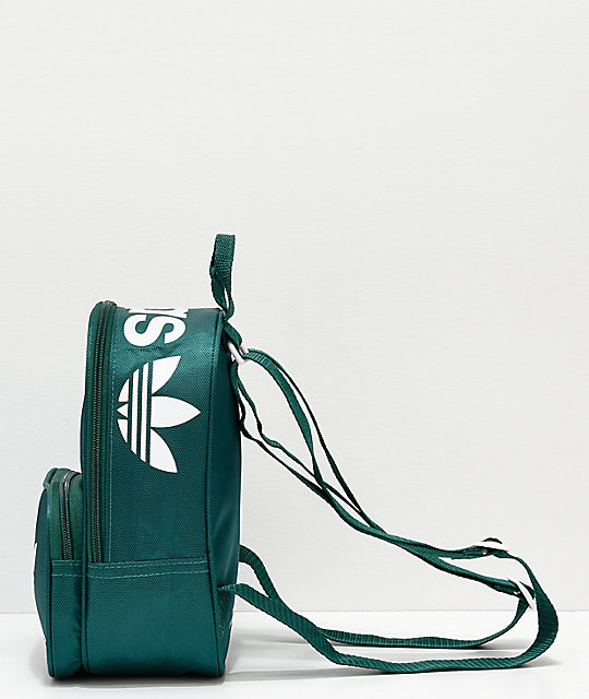 25e231fc0a1 adidas Santiago Collegiate Green Mini Backpack   Zumiez
