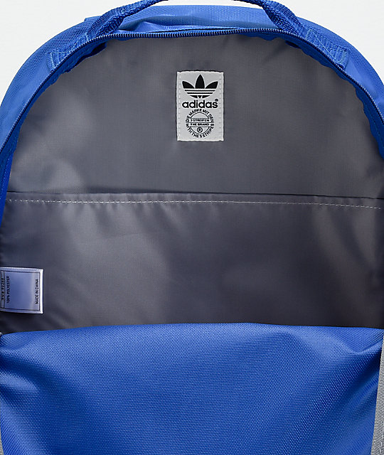 88cb05159169 ... adidas Santiago Royal Blue Backpack ...