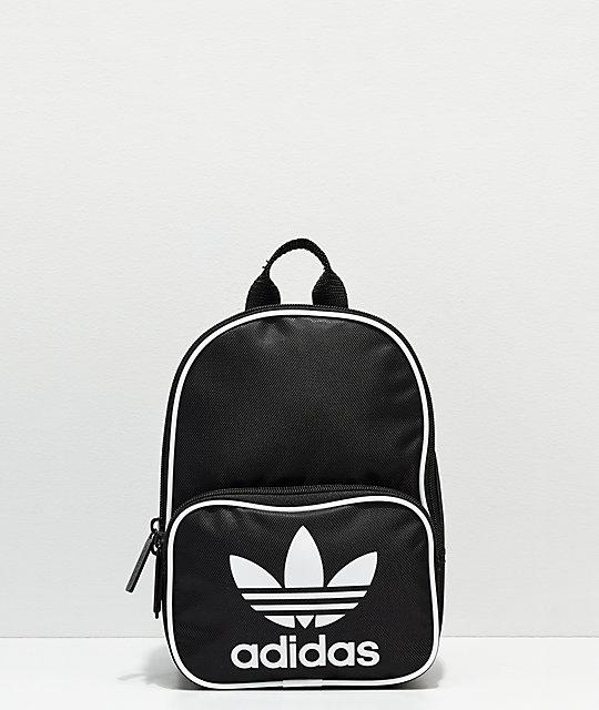 Adidas Zumiez Negra Mini Santiago Mochila ngwq04gzA