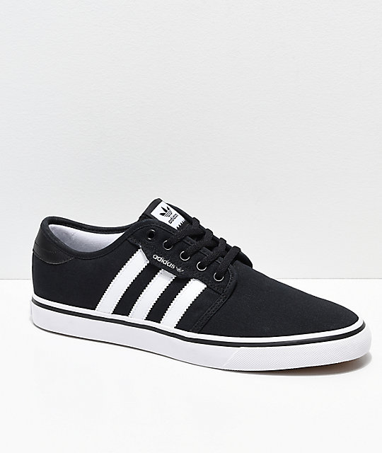 57c2893affff adidas Seeley Black   White Shoes