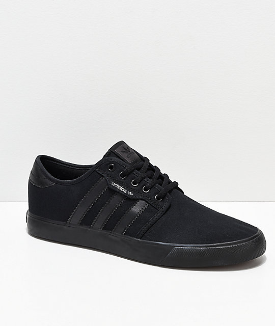 newest collection 55ab1 b4c5d adidas Seeley Black Shoes   Zumiez