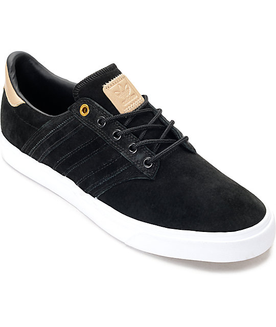 adidas Seeley Premium Class Black & Nude Shoes