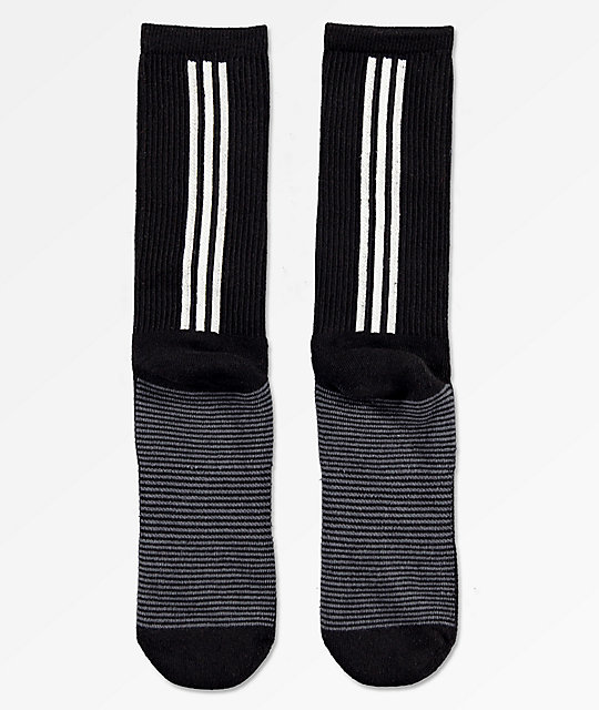 ceabaf0358 adidas Statement Black Crew Socks