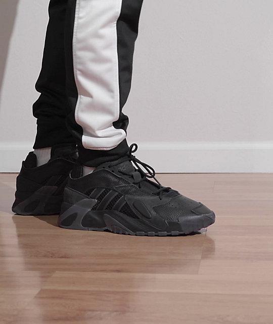 adidas Streetball Black & Carbon Grey Shoes